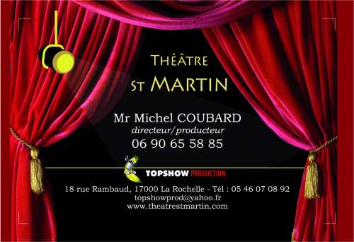 Le th tre st martin for Ecovelo la rochelle